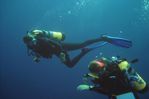 Dive Master Scuba Training Egypt