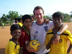 INDIA: Exciting Football Coaching with Underpriviledged Children in Madurai