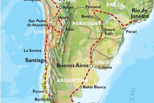 Quito to Rio (15 weeks) Kingdoms & Carnivals