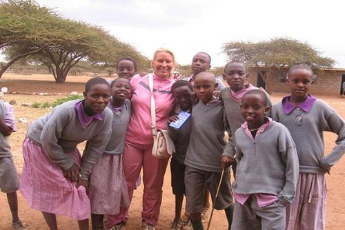 Volunteer with Children in Kenya