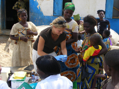 Humanitarian Refugee Volunteer Work in Africa