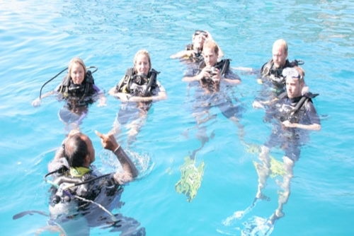Learn to Scuba Dive in Asia