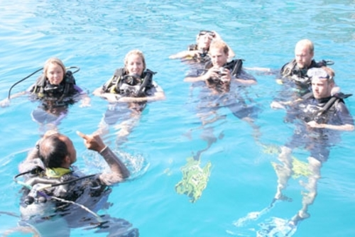 Beginners Dive Courses in Thailand