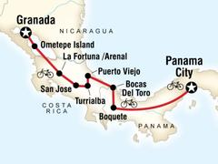 Central America Cycle Tour