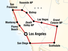 Best of USA West Coast Overland Tour