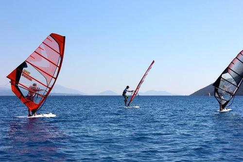Windsurfing Lessons in Lefkas, Greece