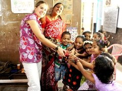 Orphanage Volunteering in India