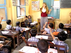 Volunteer Teaching and Explore South India