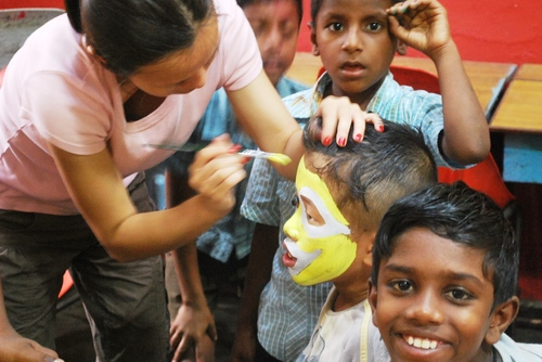 Volunteer with Disabled Children in Kerala