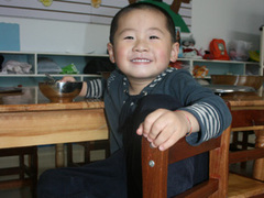 China Teaching English in a School and a Kindergarten