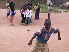 Ghana, Coaching Football to Children with BVOL