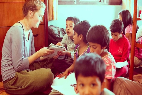 Work at an Orphange in Nepal
