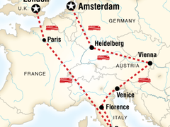 Cities of Europe Overland - 14 Days