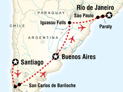 South America Southern Explorer - 15 Days