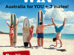 Win a Trip to Australia for YOU and 3 Friends