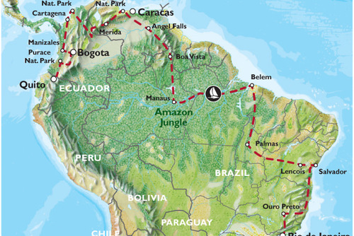 South America Overland Adventure: Rio to Quito (92 Days)