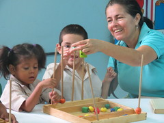 Work with Children in Honduras