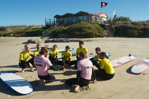 Beginners Surf Lessons Portugal