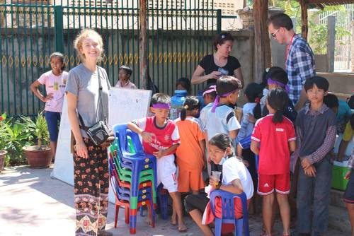 Teaching Placement in Siem Reap, near Angkor Wat