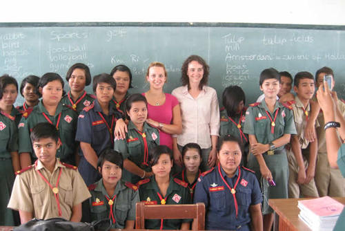 Free English teaching placement in Thailand