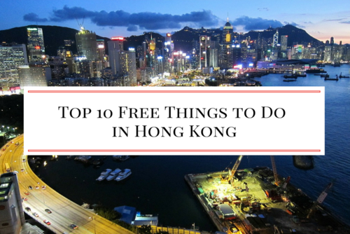 10 Free Things to Do in Hong Kong