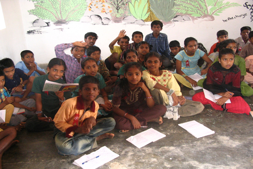 Teaching in India