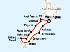 New Zealand Active South Island