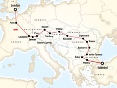 London to Istanbul by Rail