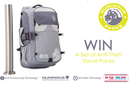 WIN The Ultimate Anti-Theft Travel Backpacks!