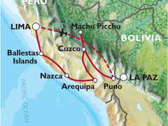Peru Encompassed Tour (19 Days) Lima to Lima