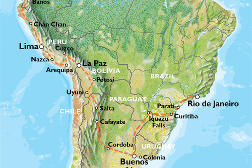 Quito to Rio via Buenos Aires (72 Days) Southern Trans Oceanic