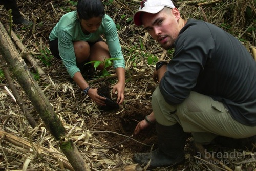 Environmental Conservation Projects in the Peruvian Amazon