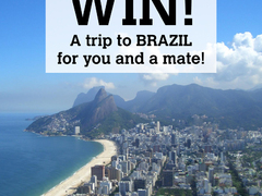 Win a trip to Brazil for you & a friend!