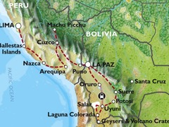 Lima to La Paz (30 days) Peru & Bolivia Encompassed