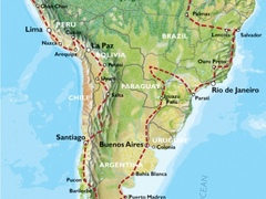 Quito to Quito (31 weeks) Trans South America