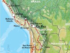 Quito to Santiago (53 days) Andes & Amazon