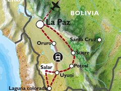 La Paz to La Paz (15 days) Bolivia Encompassed (Inc. Amazon Jungle)