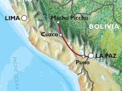 Cusco to La Paz (14 days) Peru & Bolivia Explorer