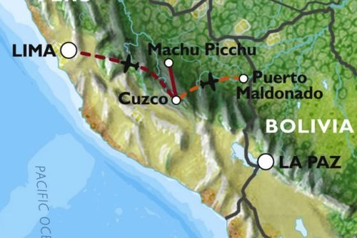 Cuzco to Lima (12 days) Incas & Amazon (Inc. Amazon Jungle)