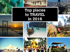 Top 5 Destinations for 2016