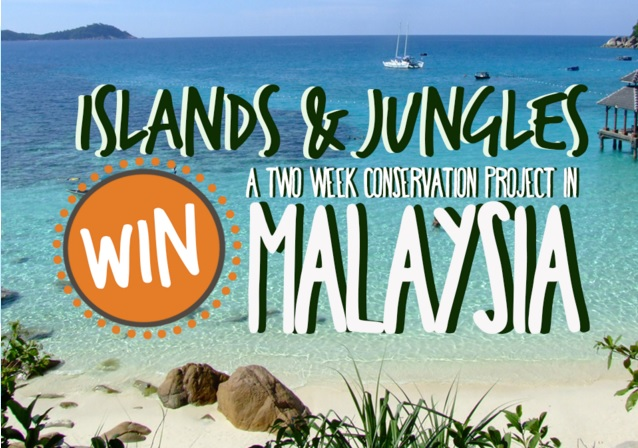 Win a Conservation Trip in Malaysia