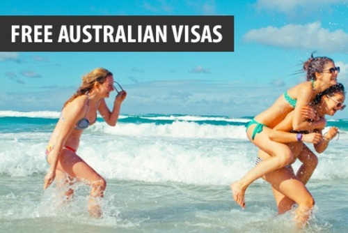 Free Working Holiday Visas for Australia