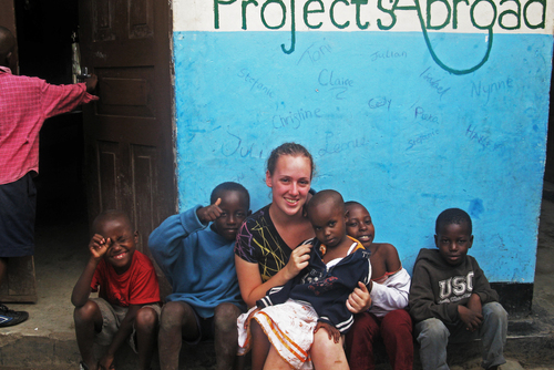 Care Work with Children in Tanzania