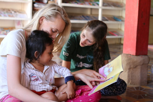 Care Work with Children in Cambodia