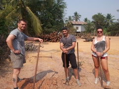 Construction Volunteer in Cambodia