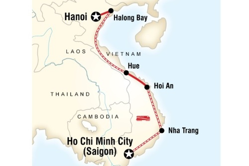 Vietnam on a Shoestring Tour