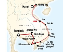 Cambodia and Vietnam on a Shoestring Tour