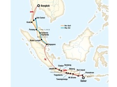 Bangkok to Bali Shoestring Tour