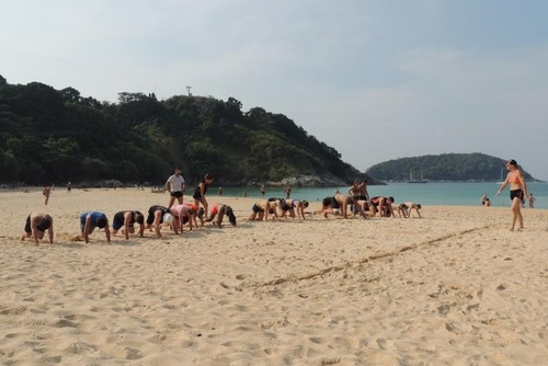 Tropical Fitness Bootcamp, Thailand