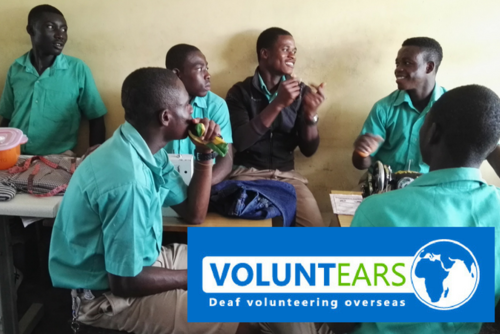 Deaf volunteering in Ghana